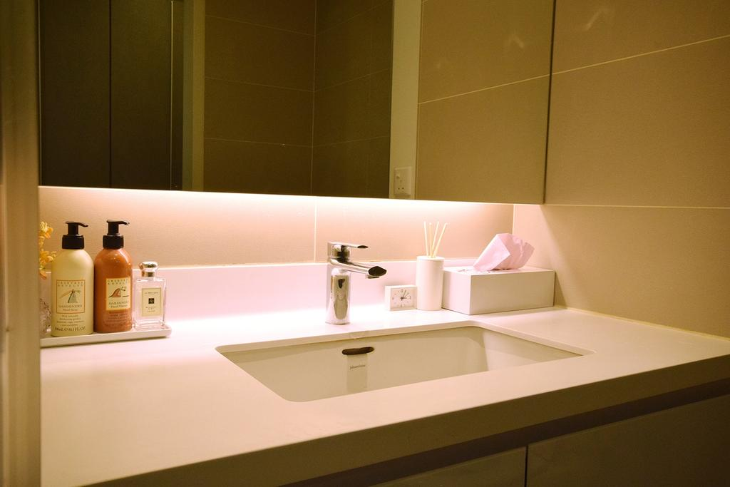 Modern, Condo, Bathroom, Windows On The Park, Interior Designer, The Grid Studio, Contemporary, Sink