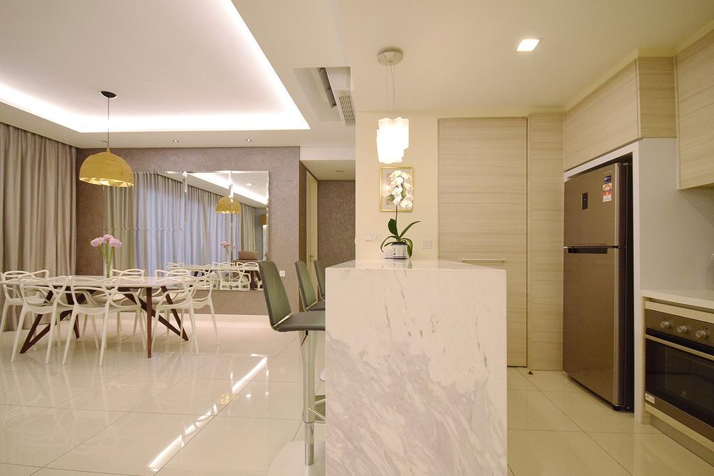 Modern, Condo, Kitchen, Windows On The Park, Interior Designer, The Grid Studio, Contemporary, Dining Table, Furniture, Table, Indoors, Interior Design