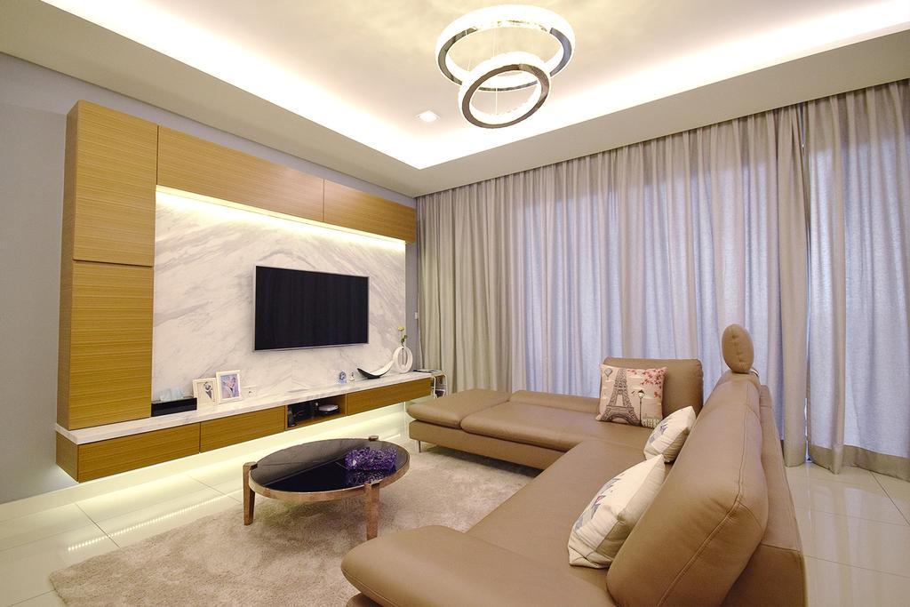 Modern, Condo, Living Room, Windows On The Park, Interior Designer, The Grid Studio, Contemporary, Indoors, Interior Design, Couch, Furniture