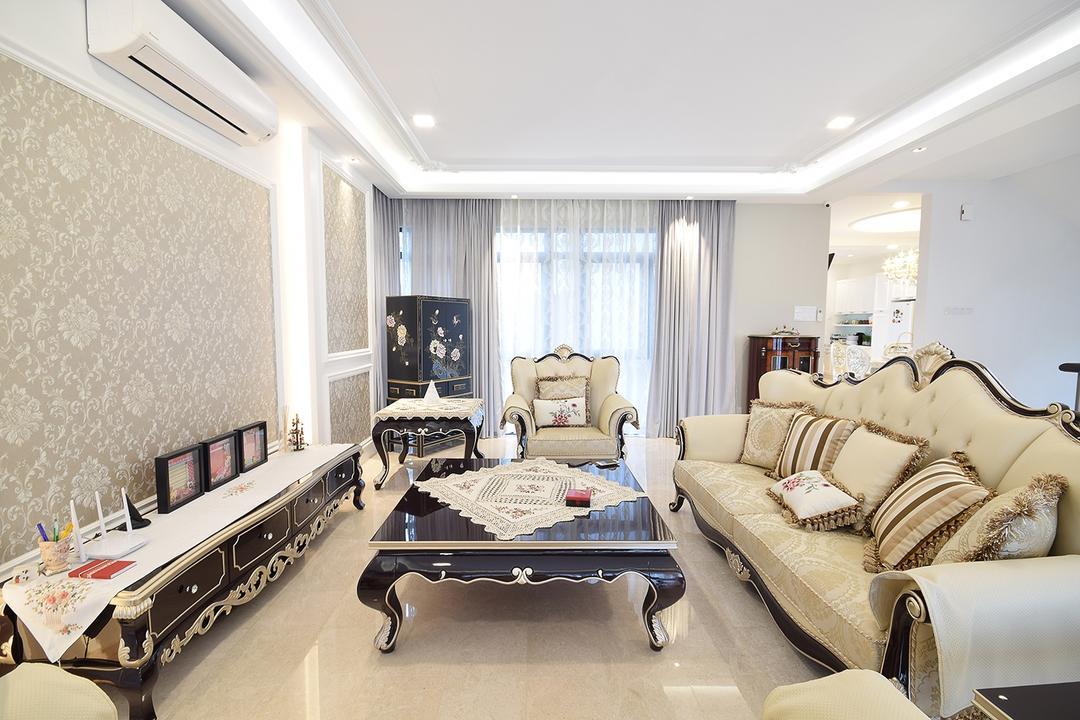Jade Hills @ Kajang Living Room Interior Design 1