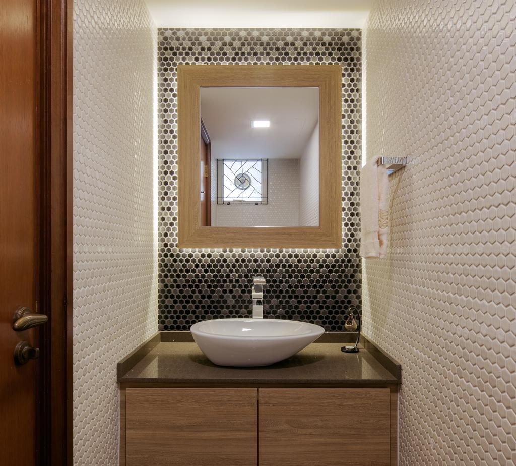 Modern, Condo, Bathroom, Jalan Sinar Bulan, Interior Designer, Weiken.com