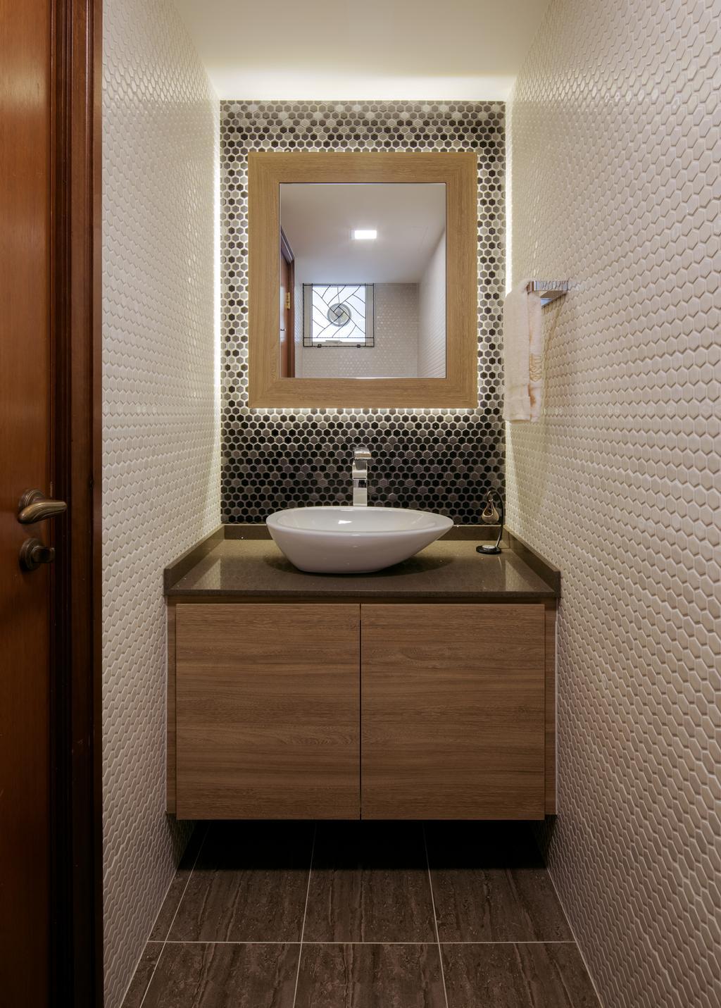 Modern, Condo, Bathroom, Jalan Sinar Bulan, Interior Designer, Weiken.com, Toilet