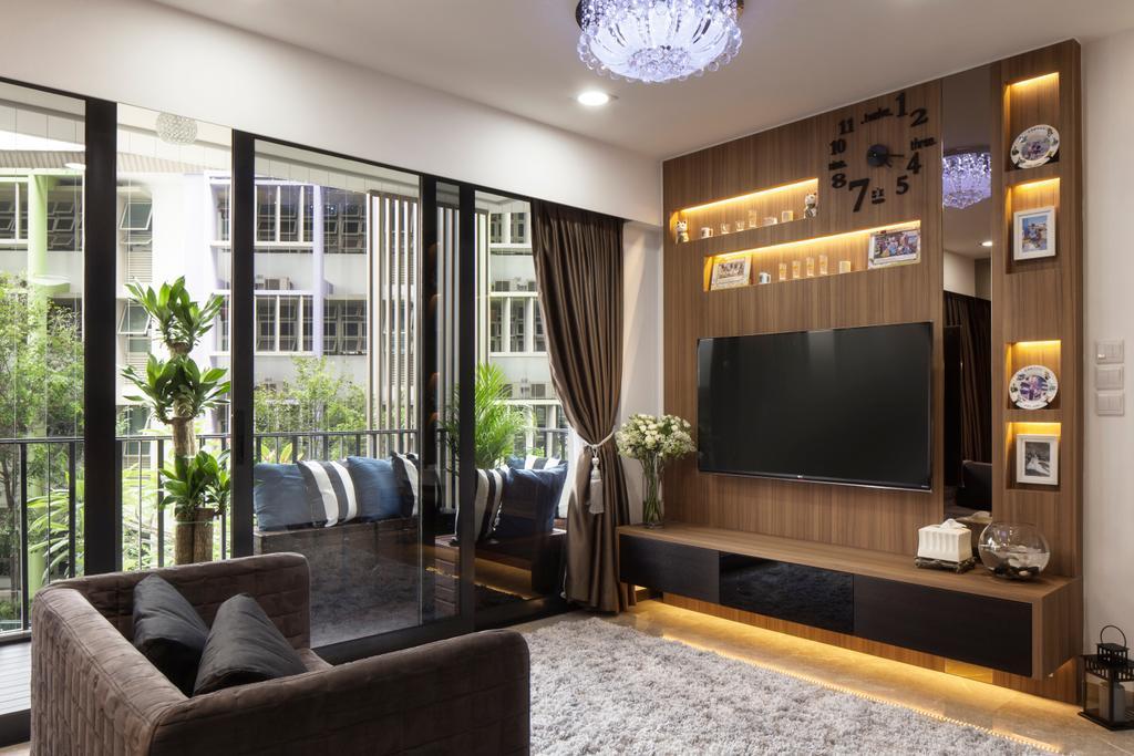 Modern, Condo, Living Room, River Isles, Interior Designer, Weiken.com, Contemporary, Couch, Furniture, Indoors, Interior Design