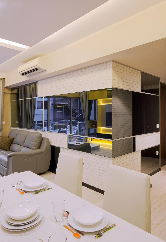 Contemporary, Condo, Sophia Residence, Interior Designer, Weiken.com, Modern, Couch, Furniture, Sink, Indoors, Interior Design