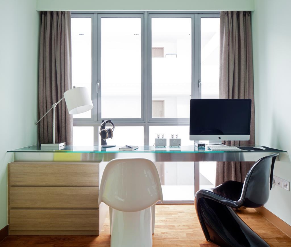 Modern, Condo, Study, Seastrand, Interior Designer, Weiken.com, Contemporary, Chair, Furniture
