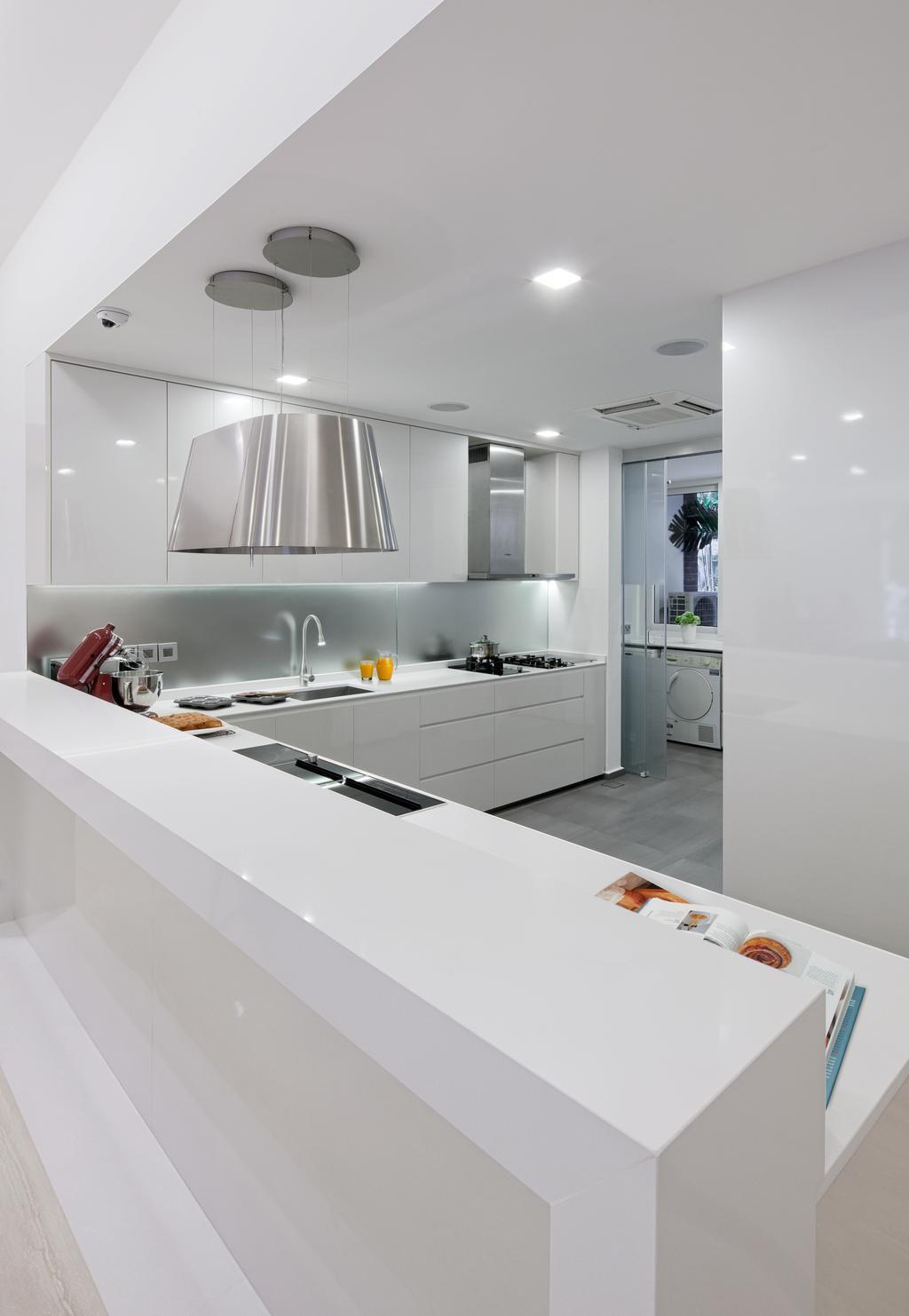 Modern, Condo, Kitchen, Gallop Gables, Interior Designer, Weiken.com, Bathroom, Indoors, Interior Design, Room
