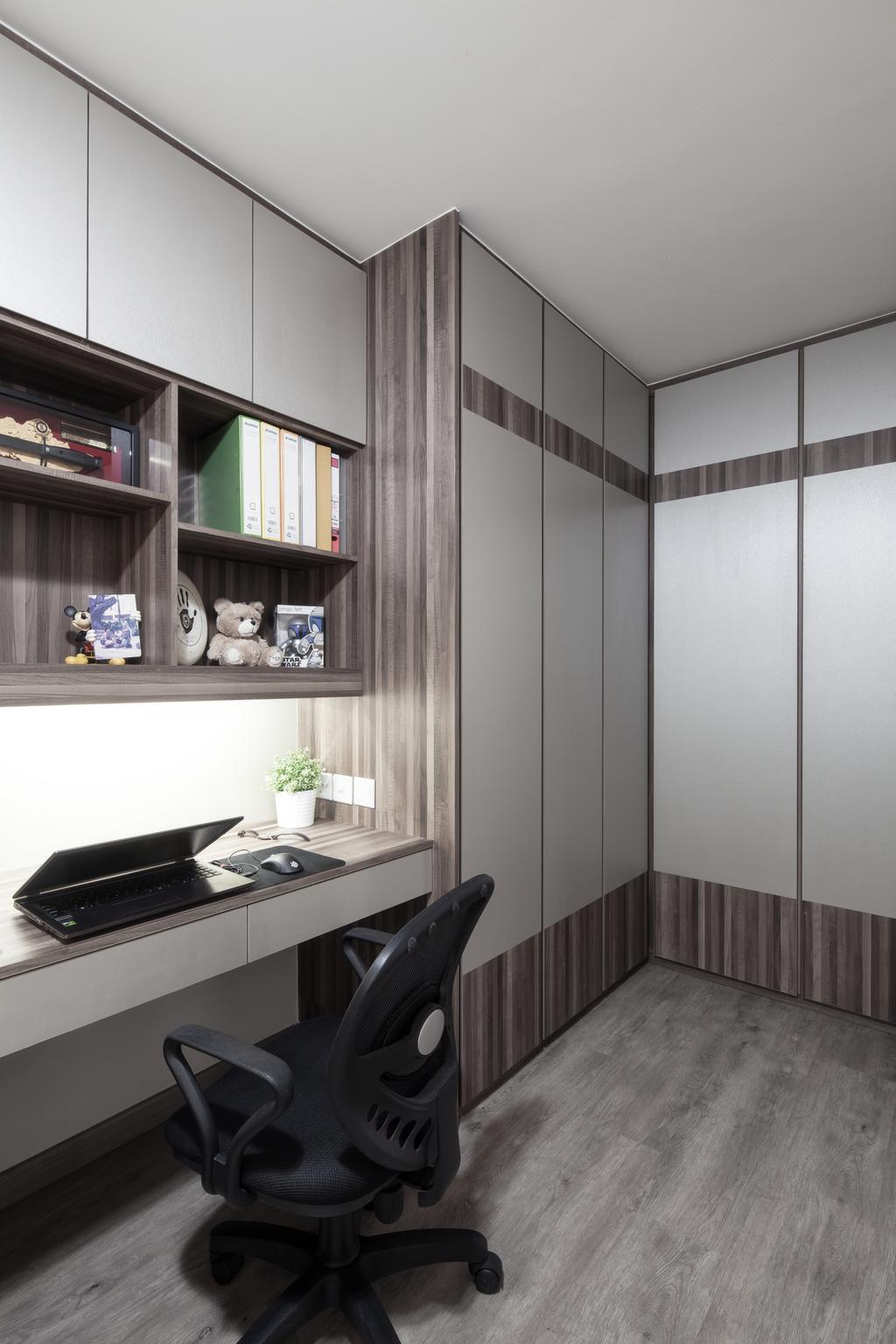Transitional, HDB, Study, Clementi (Block 358), Interior Designer, Weiken.com, Sink