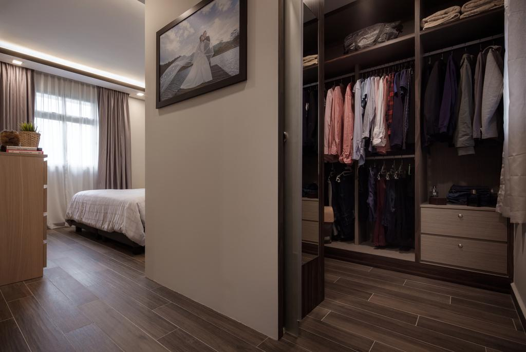 HDB, Keat Hong Close, Interior Designer, Weiken.com, Closet, Furniture, Wardrobe