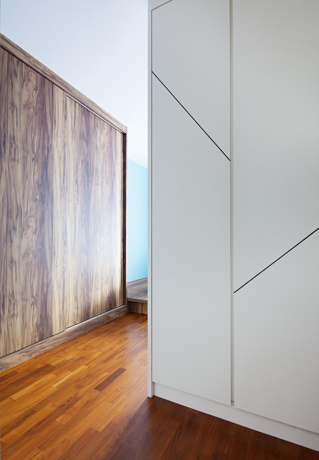 HDB, Segar Road, Interior Designer, Weiken.com, Door, Sliding Door