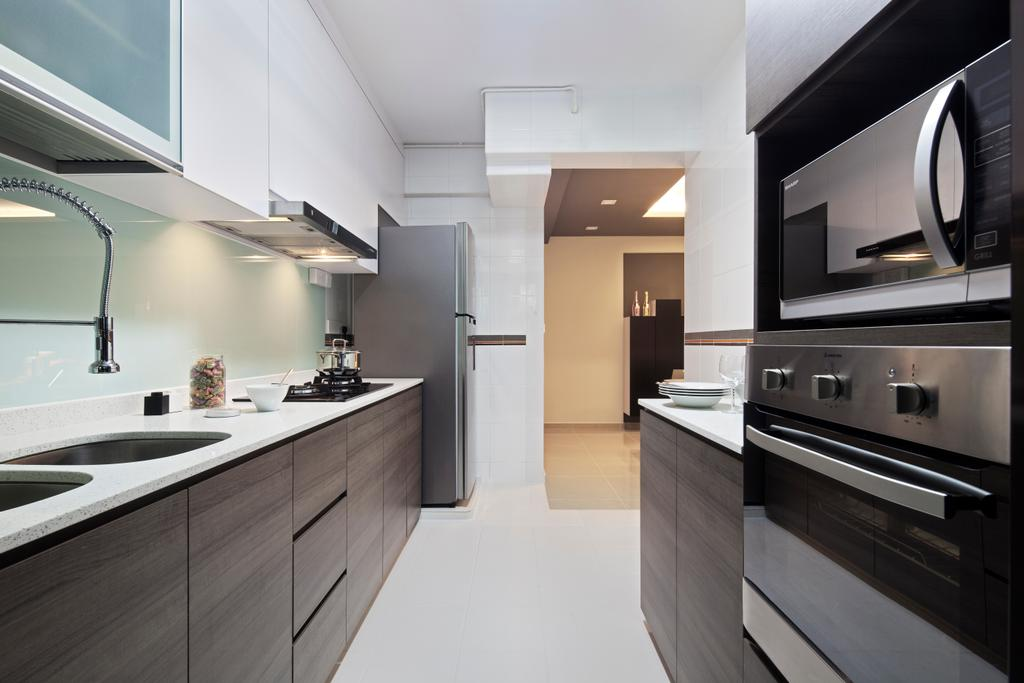 HDB, Segar Road (Block 550B), Interior Designer, Weiken.com, Appliance, Electrical Device, Oven, Indoors, Interior Design, Kitchen, Room, Bathroom