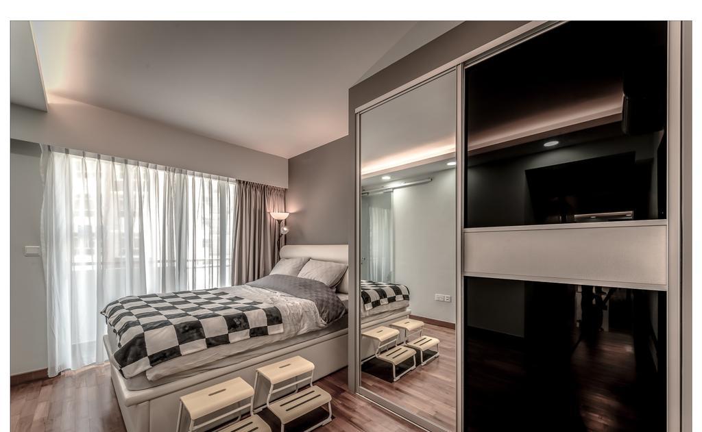 Contemporary, HDB, Bedroom, Punggol Waterway, Interior Designer, Faith Interior Design