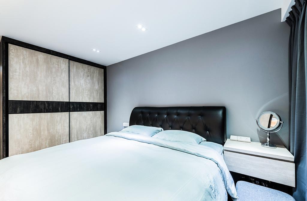 Contemporary, HDB, Bedroom, Sengkang, Interior Designer, Faith Interior Design