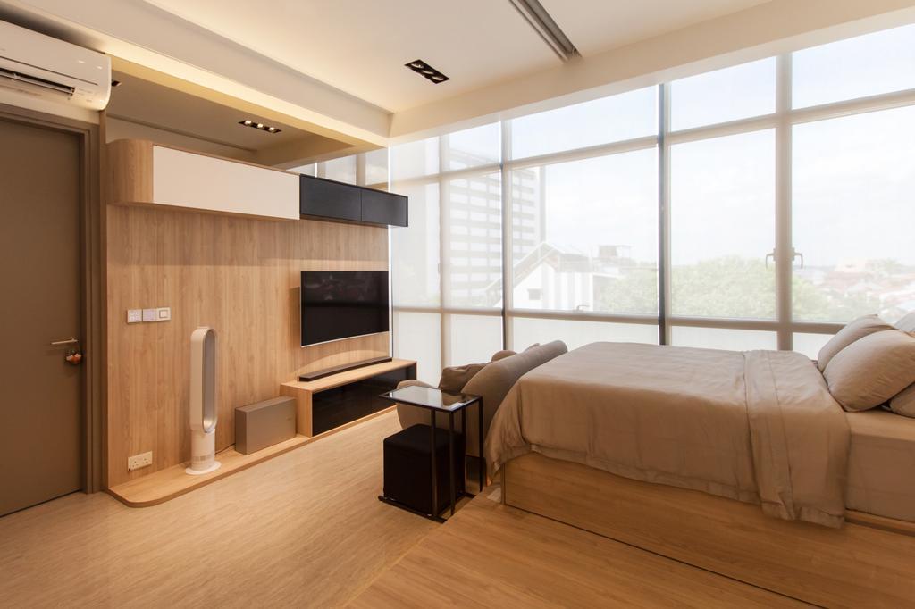 Modern, Condo, Living Room, Stratum, Interior Designer, Space Atelier, Scandinavian, Indoors, Interior Design