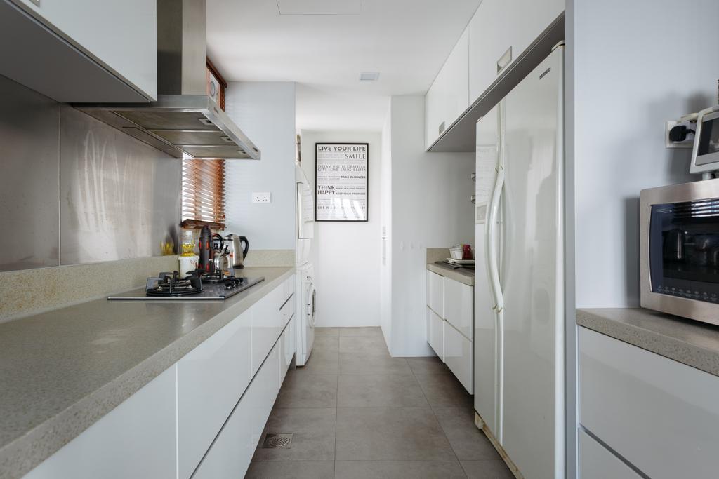 Modern, Condo, Kitchen, Palazzetto, Interior Designer, Schemacraft, Contemporary, Appliance, Electrical Device, Microwave, Oven, Indoors, Interior Design