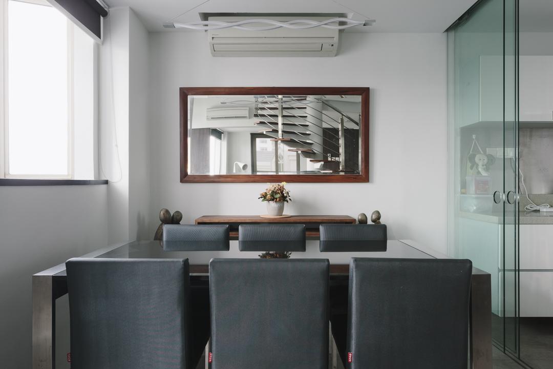 Palazzetto, Schemacraft, Modern, Contemporary, Dining Room, Condo, Indoors, Interior Design, Room, Aluminium