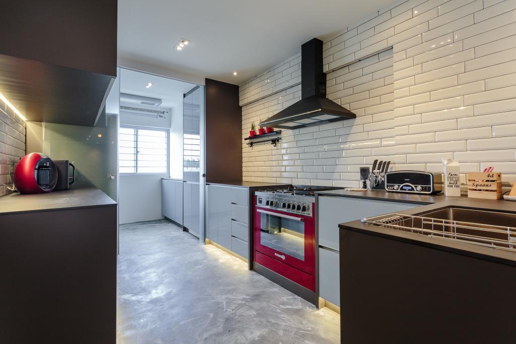 Contemporary, HDB, Kitchen, Dakota Crescent, Interior Designer, Bowerman, Appliance, Electrical Device, Oven