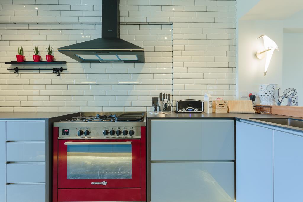 Contemporary, HDB, Kitchen, Dakota Crescent, Interior Designer, Bowerman, Appliance, Electrical Device, Oven, Drawer, Furniture, Indoors, Interior Design, Room