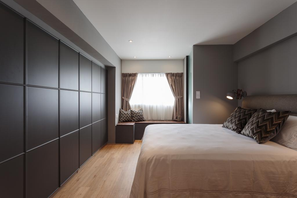 Contemporary, HDB, Bedroom, Dakota Crescent, Interior Designer, Bowerman, Indoors, Interior Design, Room, Furniture, Bed