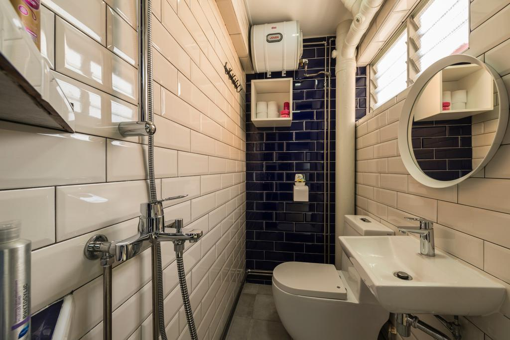 Traditional, HDB, Bathroom, Bishan Street 13, Interior Designer, Colourbox Interior, Sink, Toilet