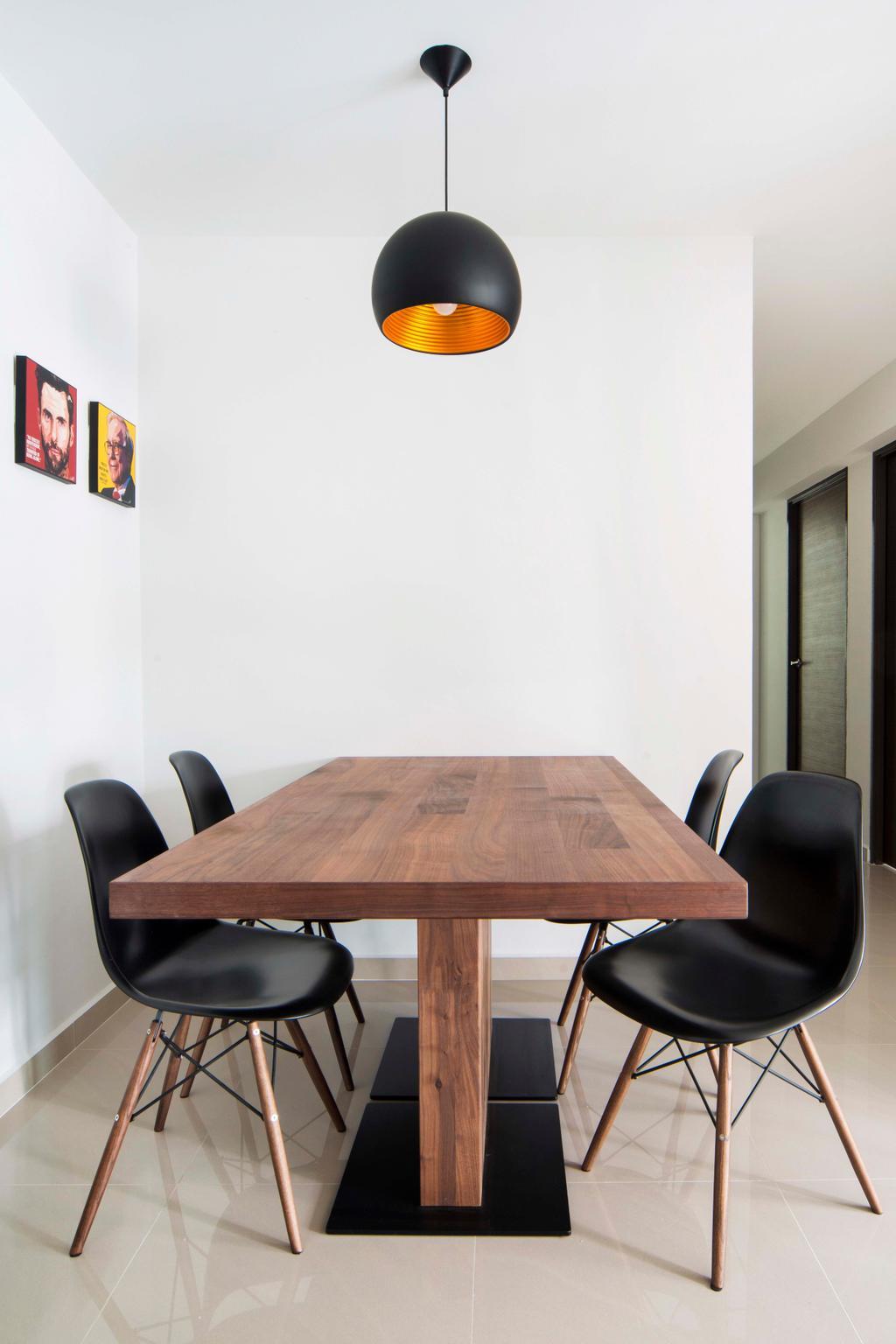 Modern, HDB, Dining Room, Edgedale Plains, Interior Designer, Cozy Ideas Interior Design, Scandinavian, Chair, Furniture, Dining Table, Table, Autograph, Handwriting, Signature, Text