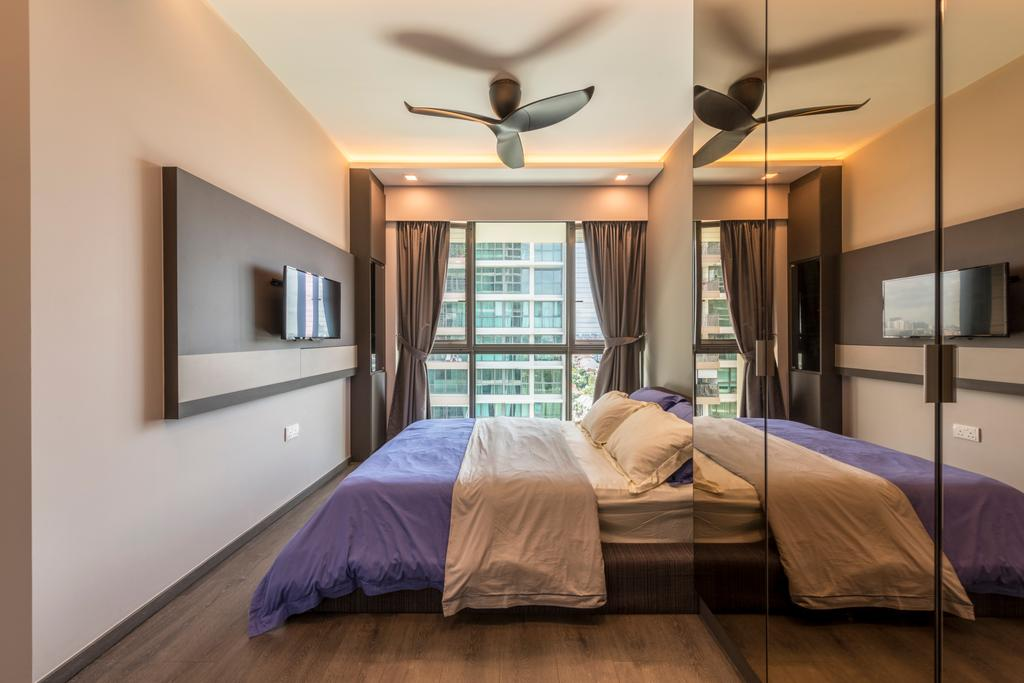 Contemporary, Condo, Bedroom, The Topiary, Interior Designer, IdeasXchange, Bed, Furniture, Indoors, Interior Design, Room