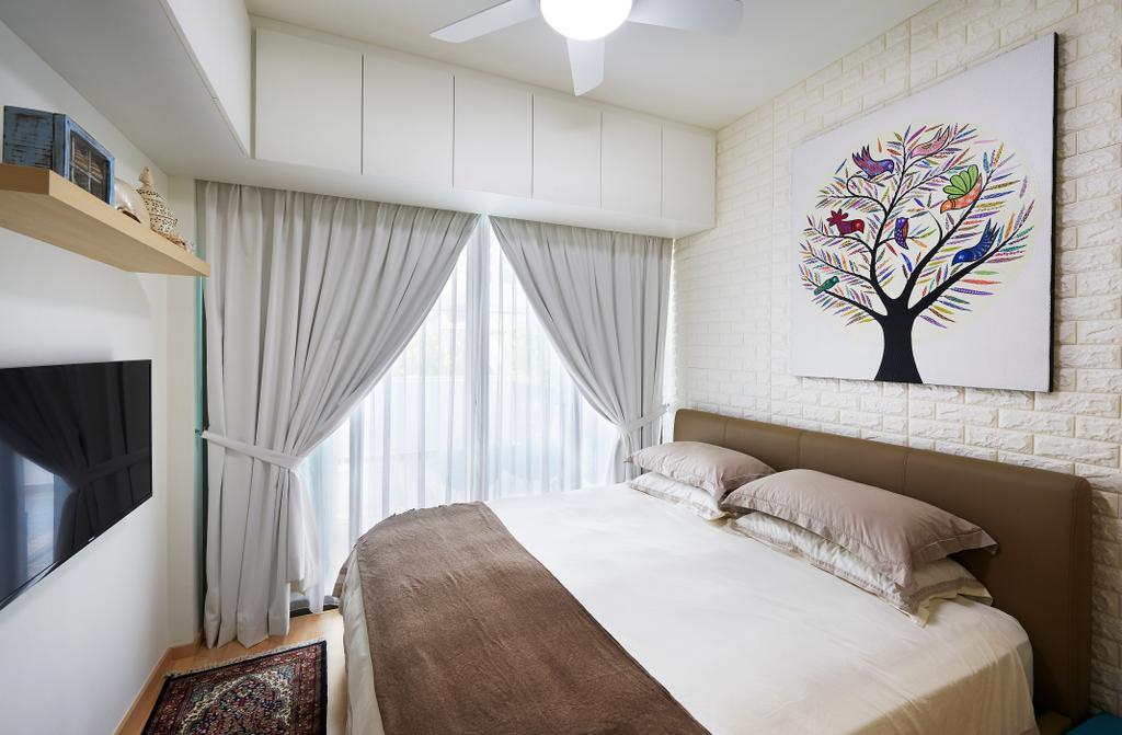 Modern, Condo, Bedroom, Ripple Bay (Block 6), Interior Designer, AC Vision Design, Scandinavian