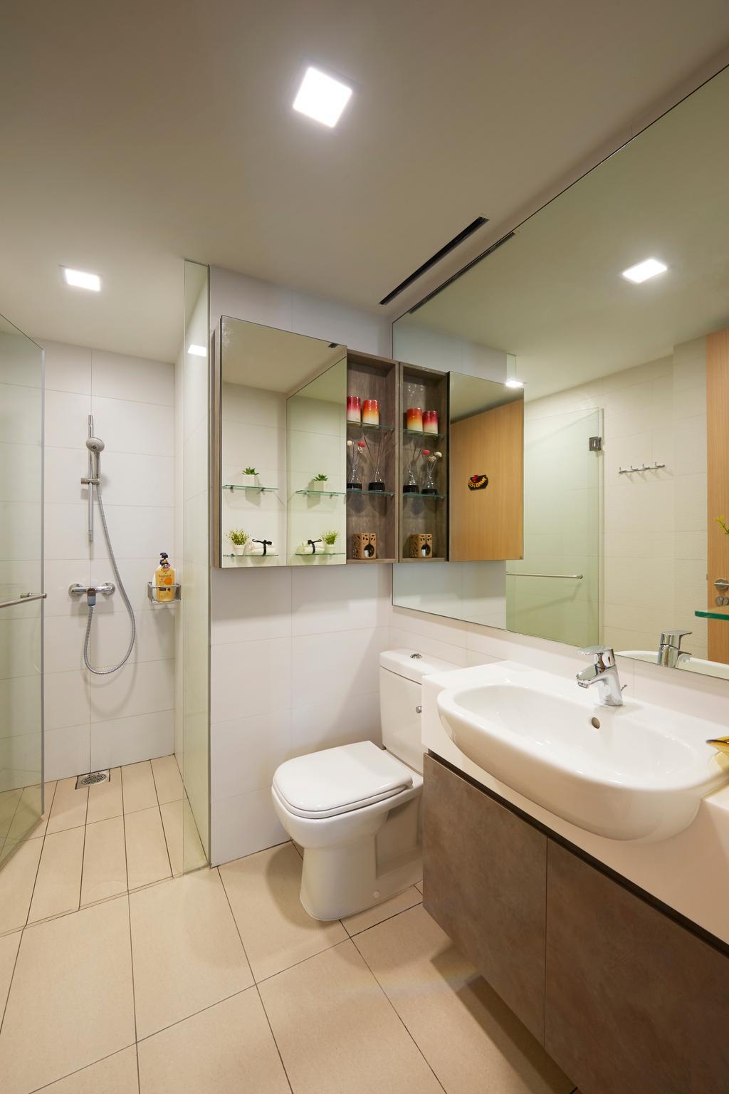 Modern, Condo, Bathroom, Pasir Ris Link (Block 12), Interior Designer, AC Vision Design
