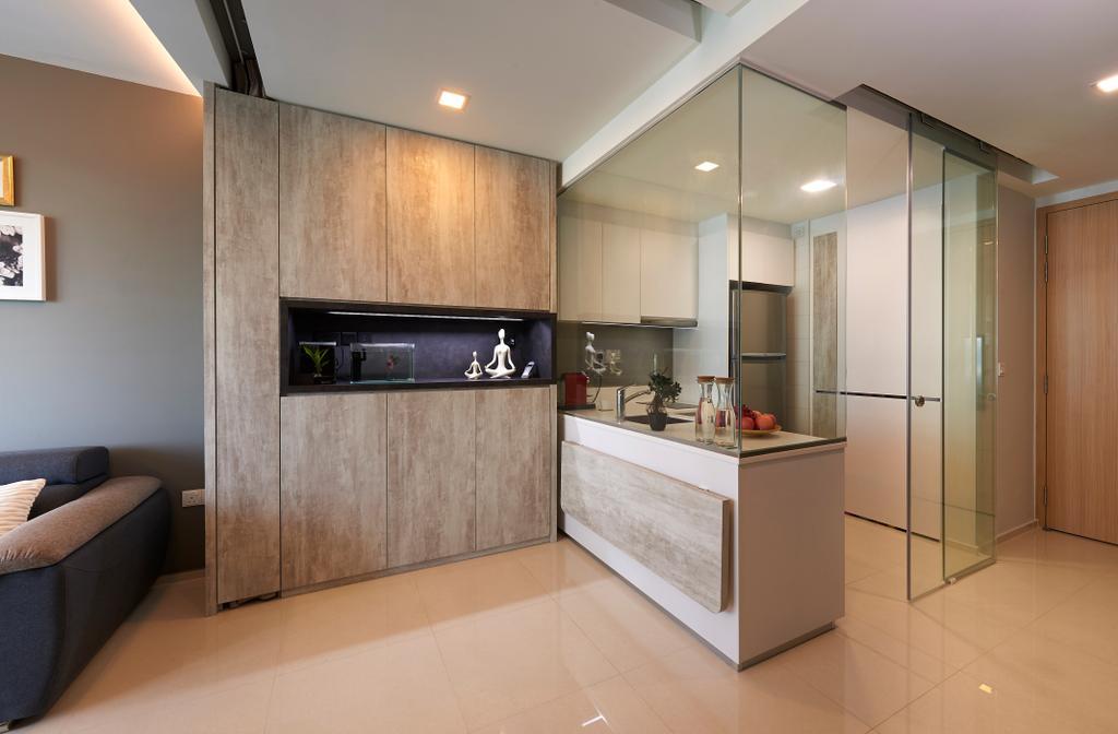 Modern, Condo, Dining Room, Pasir Ris Link (Block 12), Interior Designer, AC Vision Design