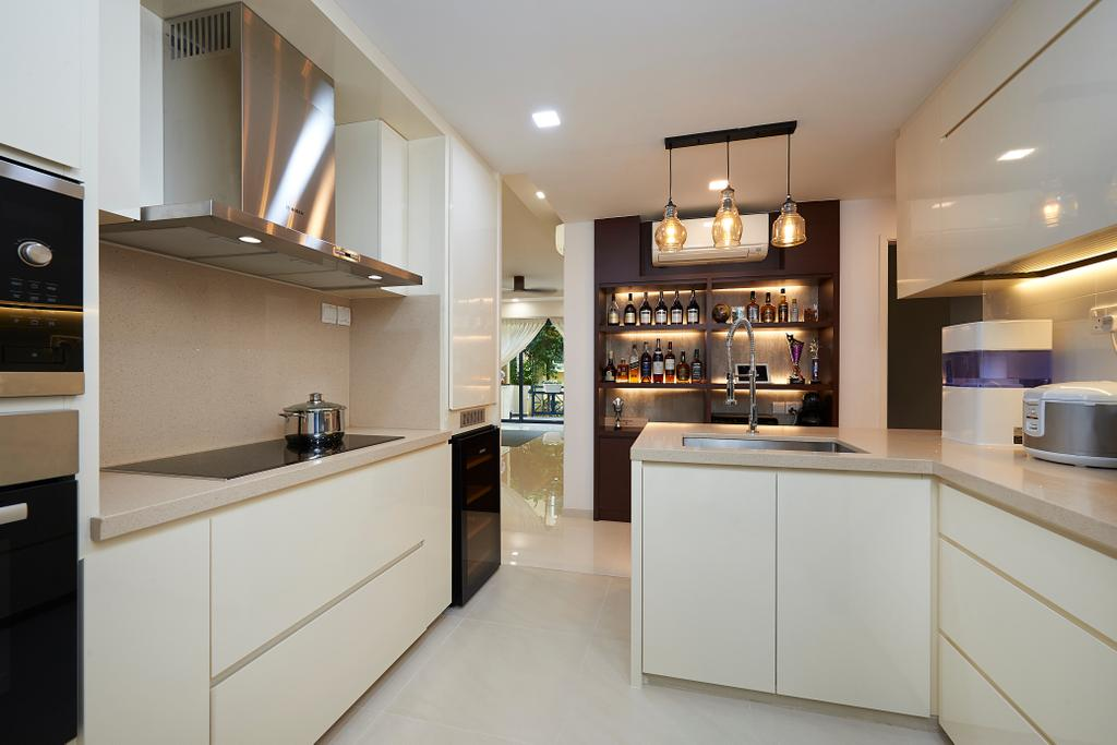 Modern, Condo, Kitchen, West Cove, Interior Designer, AC Vision Design