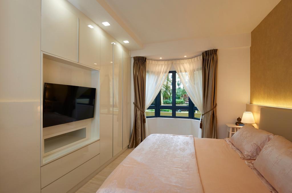 Modern, Condo, Bedroom, West Cove, Interior Designer, AC Vision Design