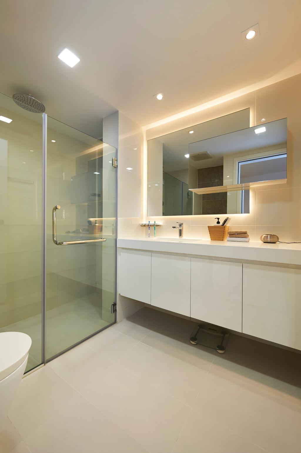 Modern, Condo, Bathroom, West Cove, Interior Designer, AC Vision Design