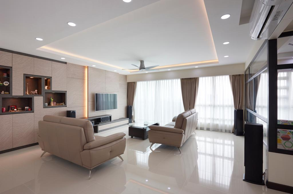 Traditional, HDB, Living Room, Bukit Batok West (Block 194B), Interior Designer, AC Vision Design