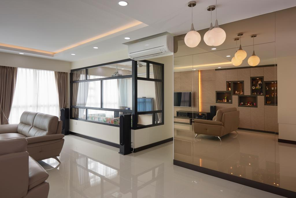 Traditional, HDB, Living Room, Bukit Batok West (Block 194B), Interior Designer, AC Vision Design