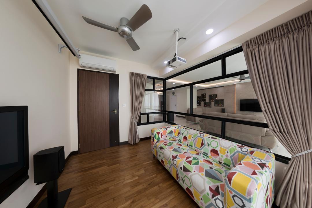 Bukit Batok West (Block 194B), AC Vision Design, Traditional, Study, HDB, Guest Room