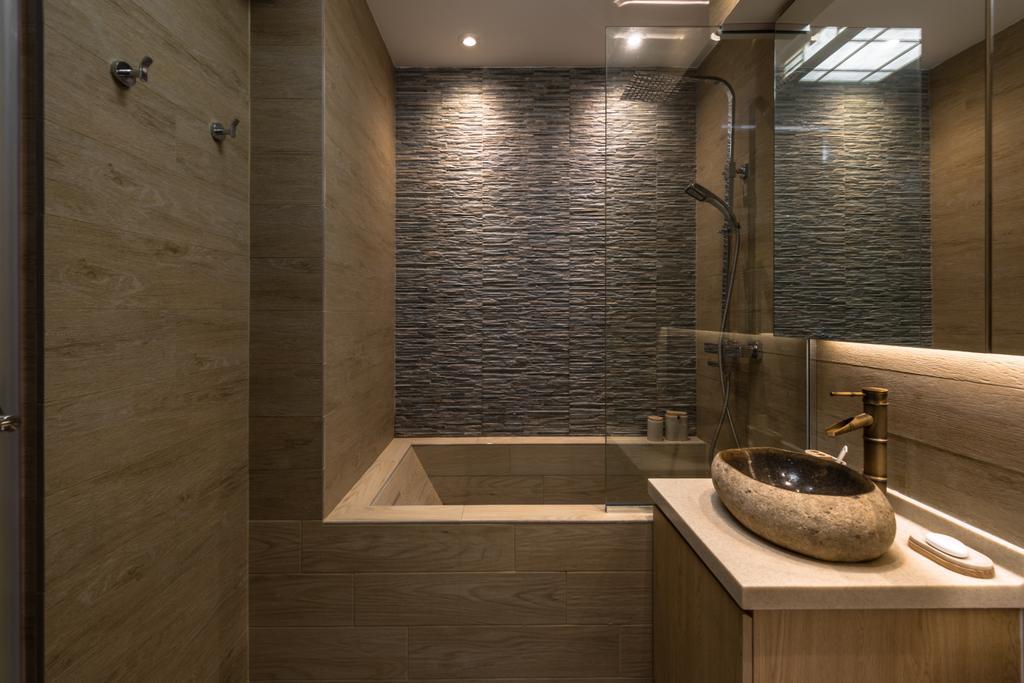Minimalistic, HDB, Bathroom, Yung Loh, Interior Designer, Mr Shopper Studio, Sink, Indoors, Interior Design, Room