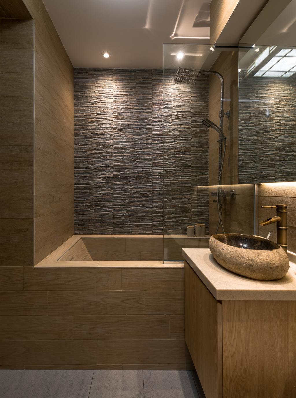 Minimalistic, HDB, Bathroom, Yung Loh, Interior Designer, Mr Shopper Studio, Sink, Indoors, Interior Design