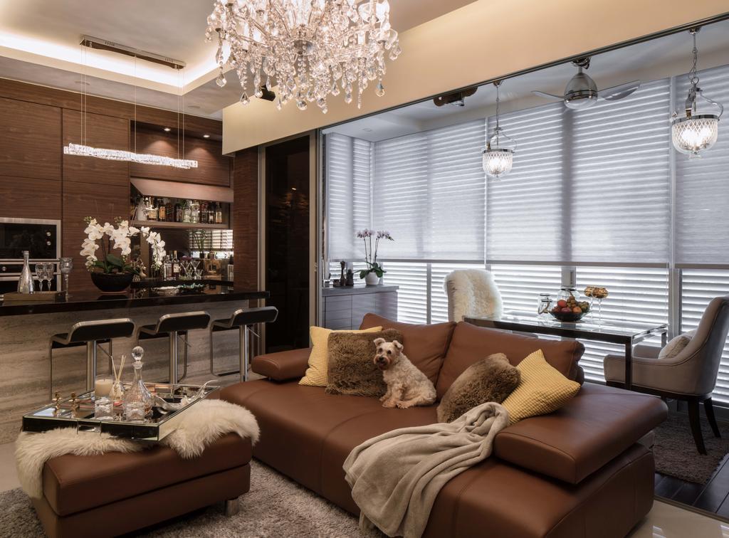 Eclectic, Condo, Living Room, Bartley Residences, Interior Designer, Weiken.com, Chair, Furniture, Sink, Couch, Indoors, Interior Design