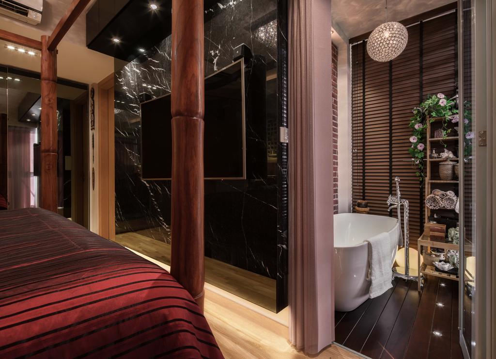 Eclectic, Condo, Bathroom, Bartley Residences, Interior Designer, Weiken.com, Indoors, Interior Design, Room