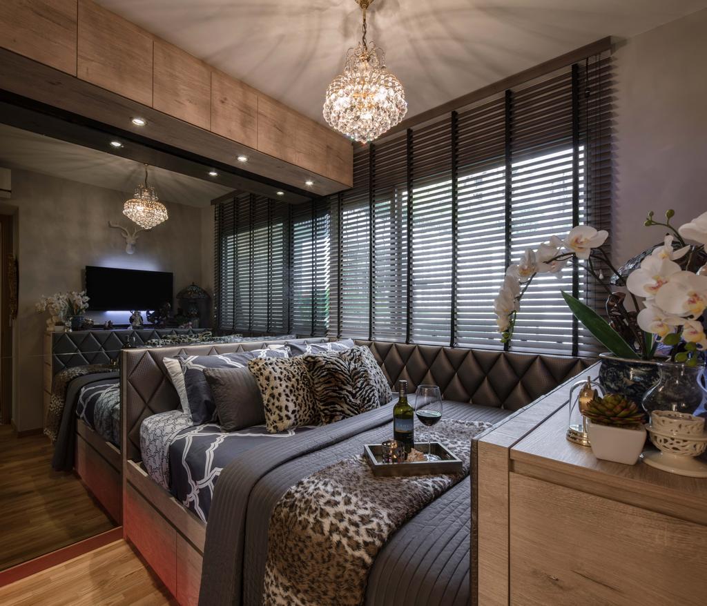 Eclectic, Condo, Bedroom, Bartley Residences, Interior Designer, Weiken.com, Couch, Furniture, Flora, Jar, Plant, Potted Plant, Pottery, Vase, Indoors, Interior Design