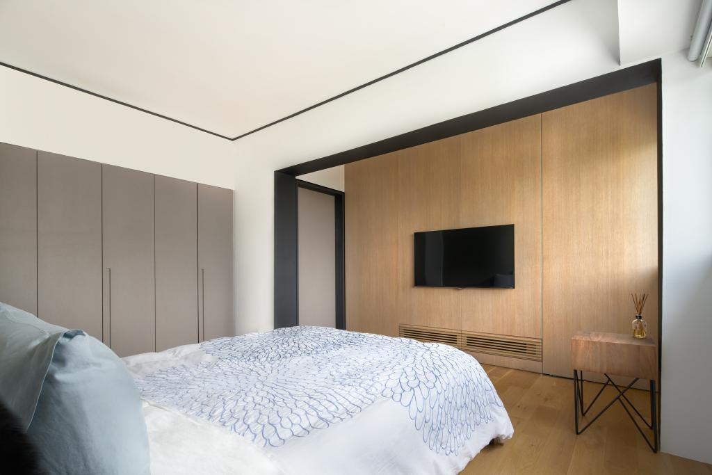 Industrial, HDB, Bedroom, Clementi Street 13, Architect, PROVOLK ARCHITECTS, Contemporary, Indoors, Interior Design, Room