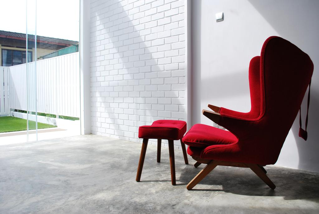 Transitional, Landed, Tagore Avenue, Architect, Czarl Architects, Chair, Furniture, Bar Stool