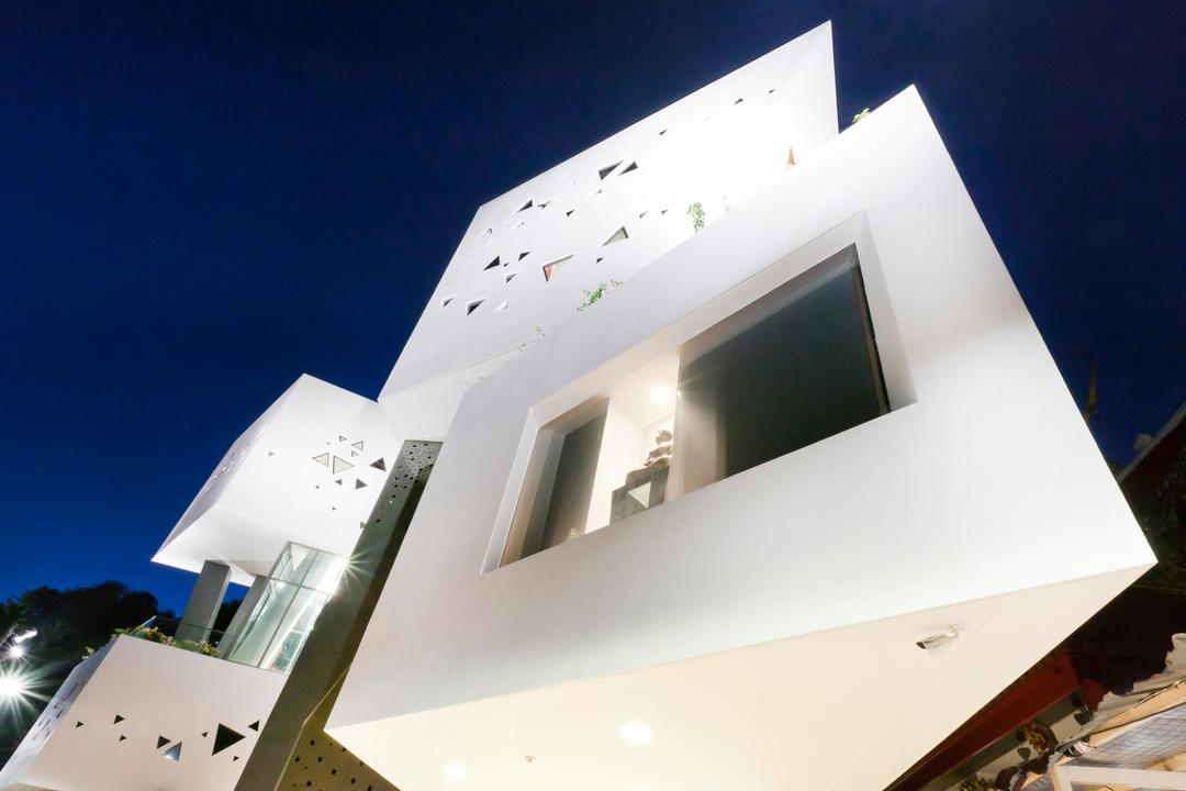 Wat Ananda Metyarama, Czarl Architects, Minimalistic, Commercial, Architecture, Bell Tower, Building, Tower