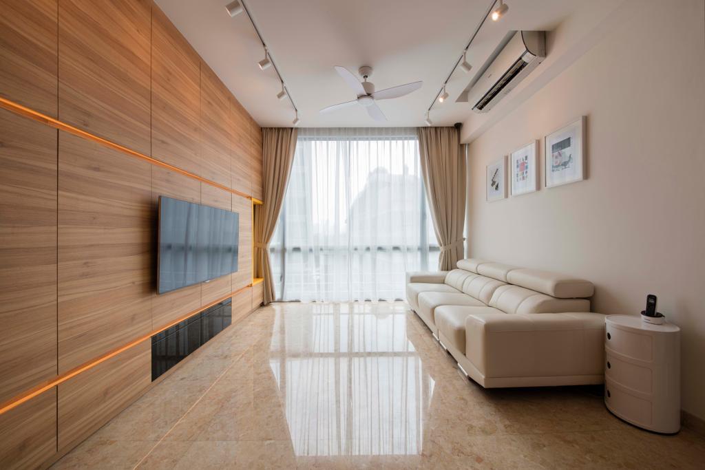 Minimalistic, Condo, Living Room, Ten Suffolk, Interior Designer, Posh Home, Scandinavian, Indoors, Interior Design
