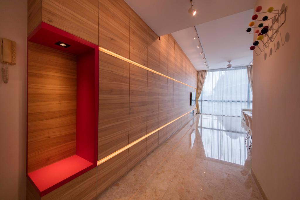 Minimalistic, Condo, Living Room, Ten Suffolk, Interior Designer, Posh Home, Scandinavian, Corridor