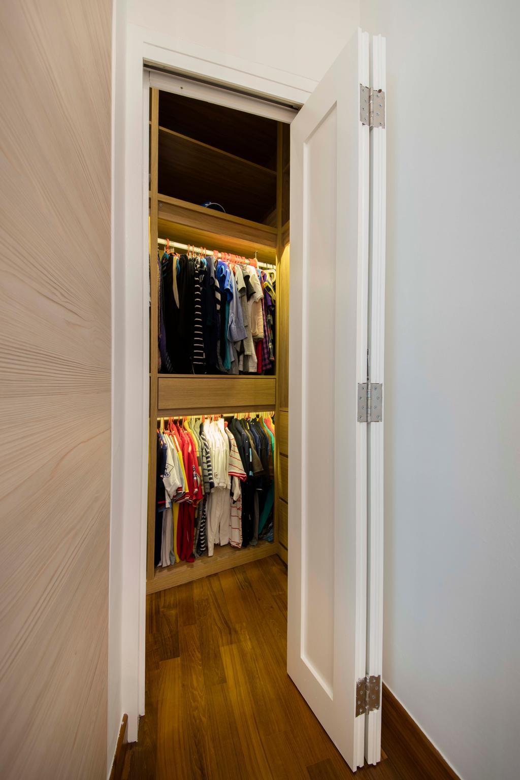 Minimalistic, Condo, Bedroom, Ten Suffolk, Interior Designer, Posh Home, Scandinavian, Closet, Cupboard, Furniture