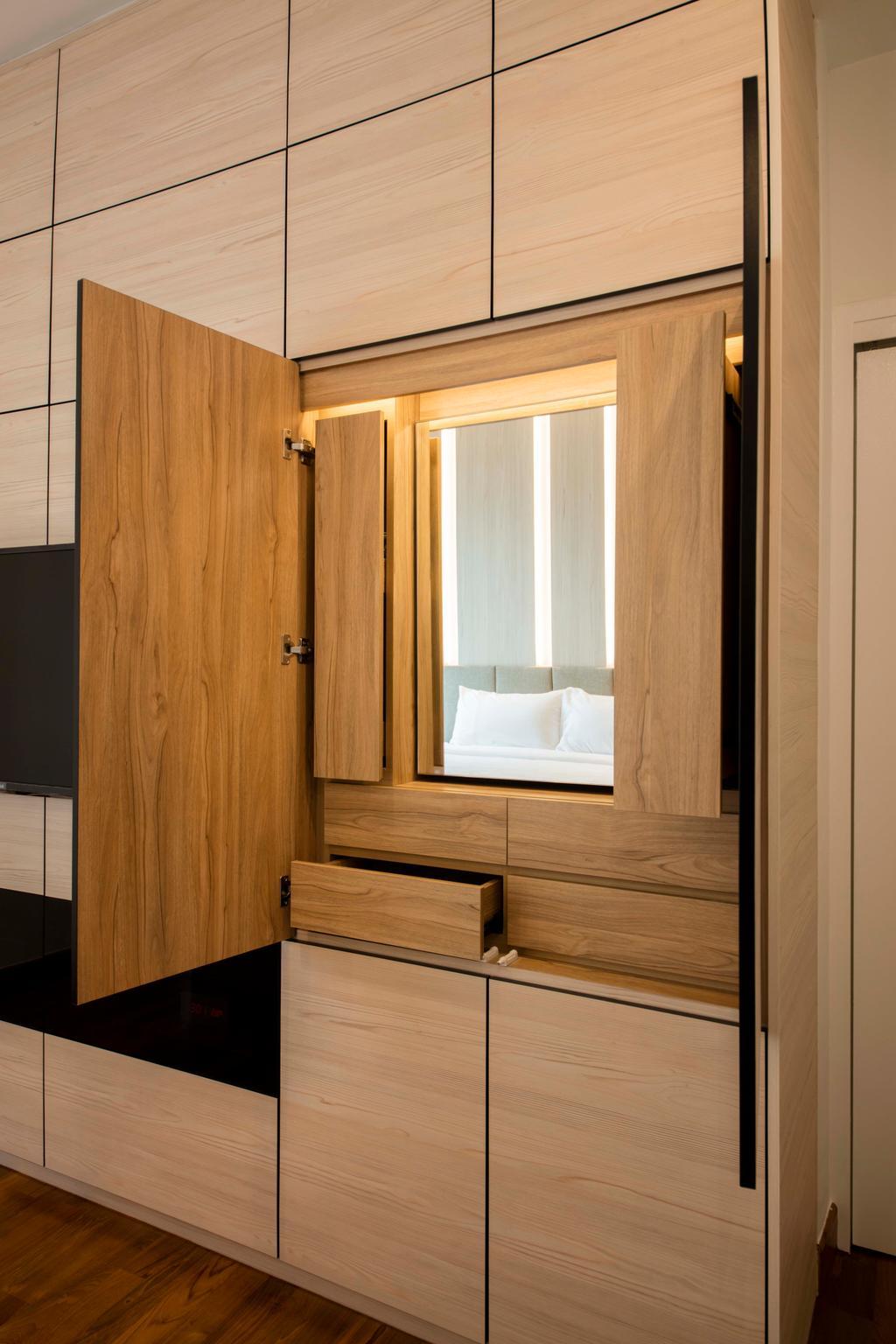 Minimalistic, Condo, Bedroom, Ten Suffolk, Interior Designer, Posh Home, Scandinavian
