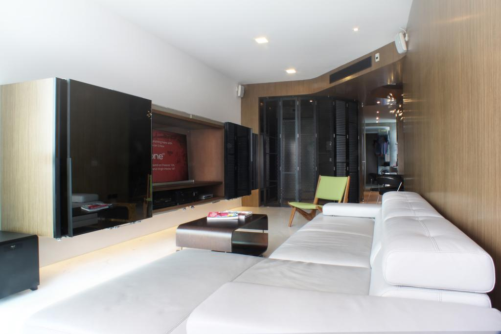 Contemporary, Condo, Living Room, The Riverine, Architect, Czarl Architects, Indoors, Interior Design, Couch, Furniture