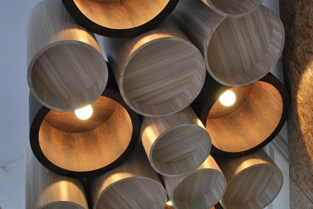 Roxtec, Czarl Architects, Contemporary, Commercial, Tubular Lightings, Statement Lighting