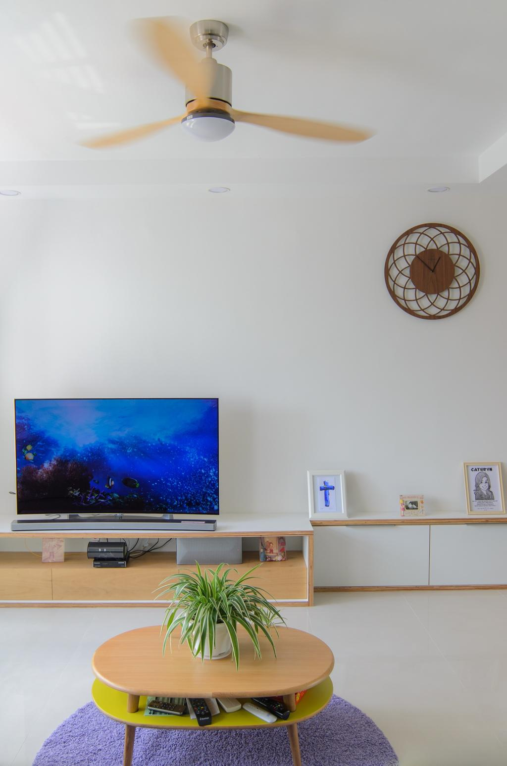 Scandinavian, HDB, Living Room, Clementi (Block 456), Architect, FOMA Architects