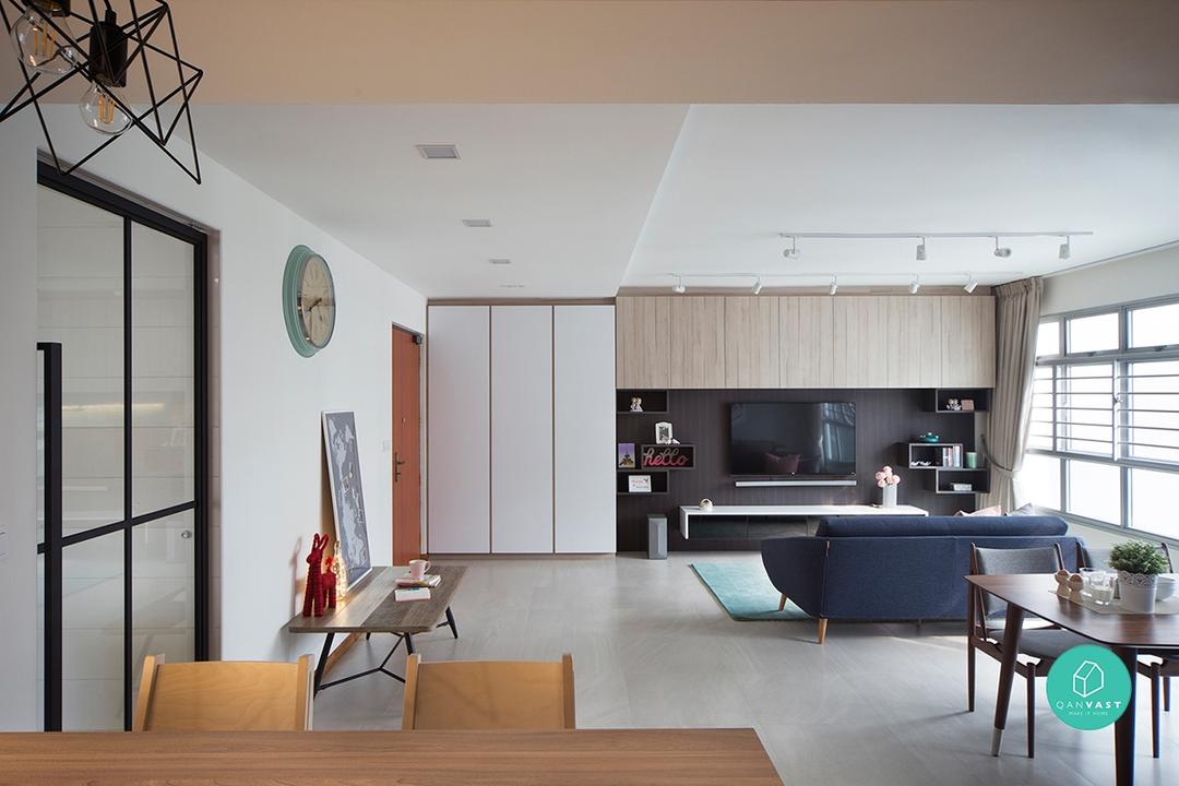 Renovation Journey: Living, Breathing Space